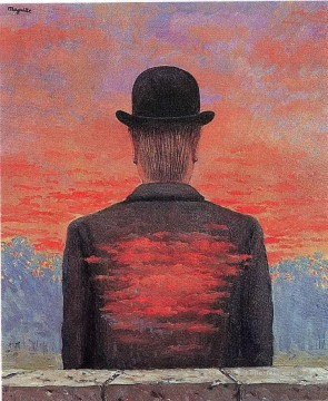 the poet recompensed 1956 Surrealist Oil Paintings