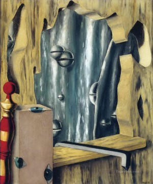 Silver Painting - the silver gap 1926 Surrealist