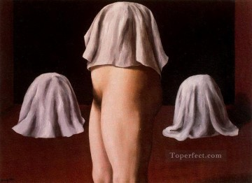 the symmetrical trick 1928 Surrealist Oil Paintings