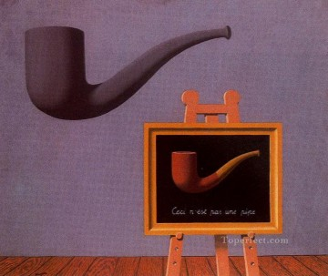 Surrealist Works - the two mysteries 1966 Surrealist
