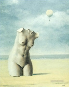 Surrealism Painting - when the hour strikes 1965 Surrealist
