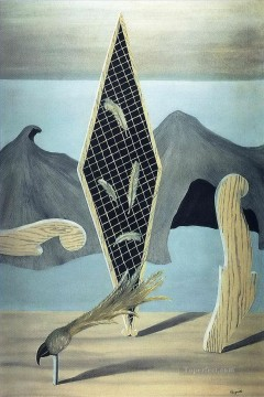 wreackage of the shadow 1926 Surrealist Oil Paintings
