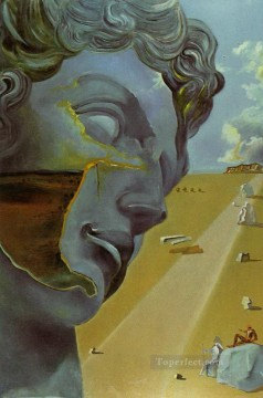 After the Head of Giuliano di Medici Surrealist Oil Paintings
