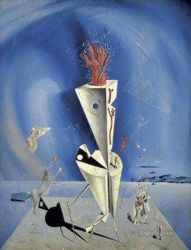 Surrealism Painting - Apparatus and Hand Surrealist