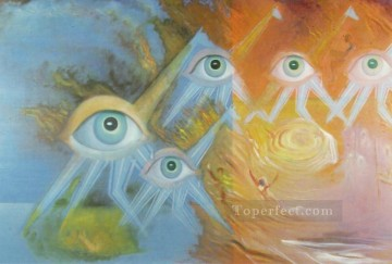 Argus Surrealism Oil Paintings