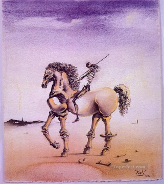 Surrealism Painting - Cavallo Metafisco Surrealism