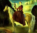 Equestrian Fantasy Portrait of Lady Dunn Surrealism