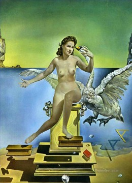 Leda Atomica 1949 Surrealism Oil Paintings
