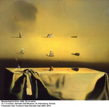 Morphological Echo 1936 Surrealism Oil Paintings