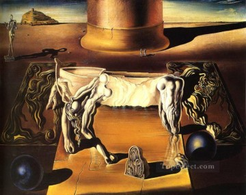 Surrealism Painting - Paranoiac Woman Horse Surrealism