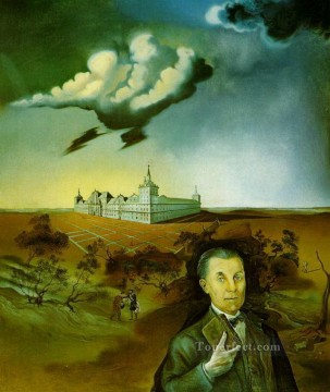 Surrealism Painting - Portrait of Ambassador Cardenas Surrealism
