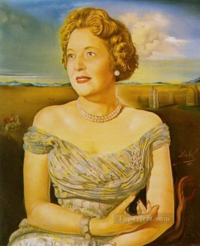 Portrait of Countess Ghislaine d Oultremont Surrealism Oil Paintings