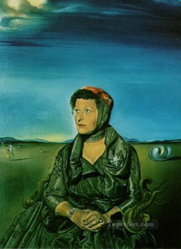 Portrait of Mrs Fagen Surrealism Oil Paintings