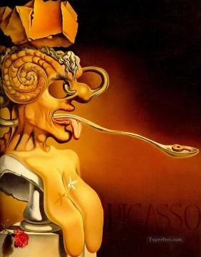 Surrealism Painting - Portrait of Picasso Surrealism