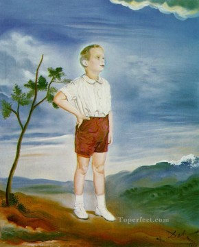 Portrait of a Child Surrealism Oil Paintings