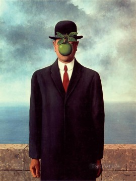 Son of Man Surrealism Oil Paintings