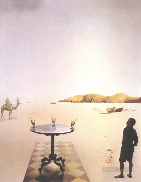 Sun Table Surrealism Oil Paintings