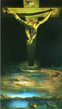 The Christ of StJohn of the Cross Surrealism Oil Paintings