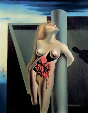 The Bleeding Roses Surrealism Oil Paintings