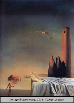 The Dream Approaches Surrealism Oil Paintings
