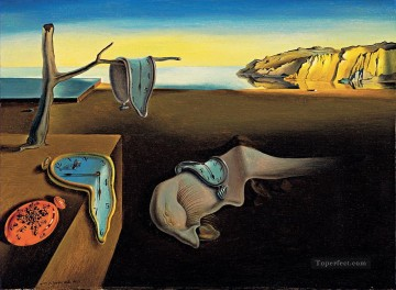 Surrealism Painting - The Persistence of Memory Surrealism