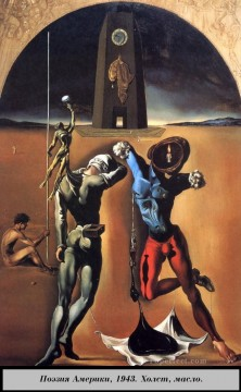 The Poetry of America Surrealism Oil Paintings