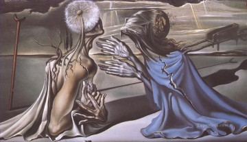 Tristan and Isolde Surrealism Oil Paintings