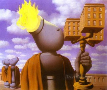 cicero 1947 Surrealism Oil Paintings