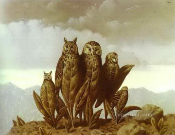 Abstract and Decorative Painting - companions of fear 1942 Surrealism