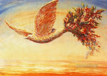 Surrealism Painting - favorable omens 1944 Surrealism
