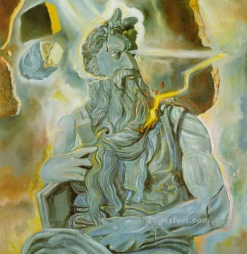 fter Michelangelo s Moses on the Tomb of Julius II in Rome Surrealism Oil Paintings