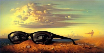 modern contemporary 05 surrealism glasses Oil Paintings