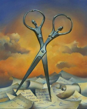 modern contemporary 12 surrealism scissor Oil Paintings