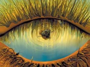 Artworks in 150 Subjects Painting - modern contemporary 24 surrealism lake of eye