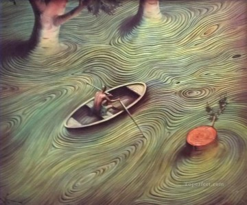 modern contemporary 35 surrealism fowing Oil Paintings