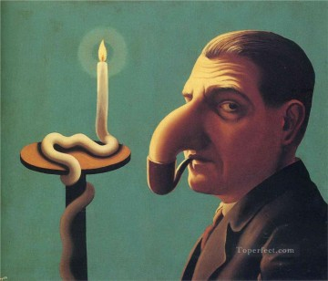 Abstract and Decorative Painting - philosopher s lamp 1936 Surrealism