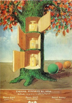 poster exciting perfumes by mem 1946 Surrealism Oil Paintings