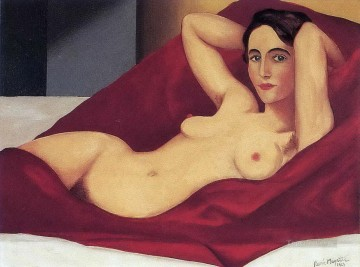 reclining nude 1925 Surrealism Oil Paintings