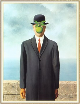 son of man 1964 Surrealism Oil Paintings