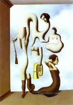 the acrobat s exercises 1928 Surrealism Oil Paintings