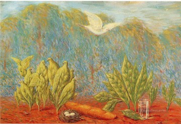 Abstract and Decorative Painting - the clearing 1944 Surrealism