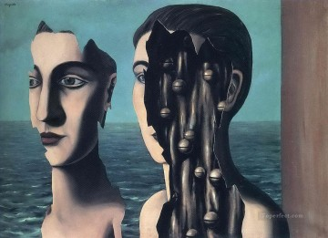 Surrealism Painting - the double secret 1927 Surrealism