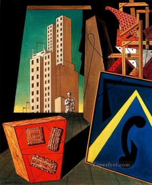 the evangelical still life Giorgio de Chirico Surrealism Oil Paintings