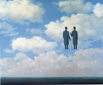 1963 Painting - the infinite recognition 1963 Surrealism