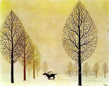 Surrealism Painting - the lost jockey 1948 Surrealism