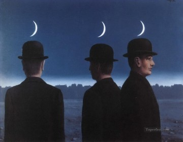Surrealism Painting - the masterpiece or the mysteries of the horizon 1955 Surrealism