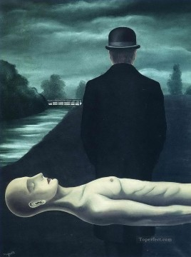 the musings of the solitary walker 1926 Surrealism Oil Paintings