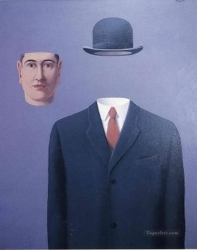 Surrealism Painting - the pilgrim 1966 Surrealism