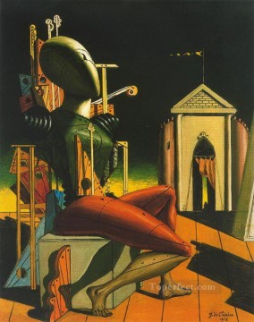 the predictor 1916 Giorgio de Chirico Surrealism Oil Paintings