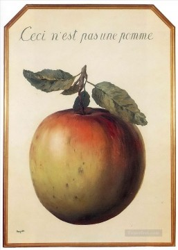 this is not an apple 1964 Surrealism Oil Paintings